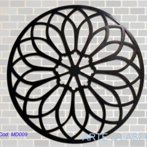 Mandalas Mandala em MDF com pintura em Laca decoração para parede